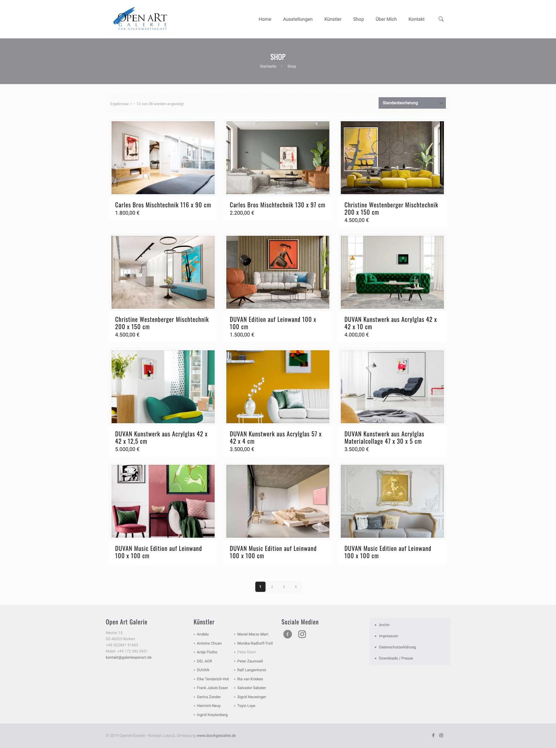 Webshop-Design von durchgestaltet® - Webshop-Konzept und Design